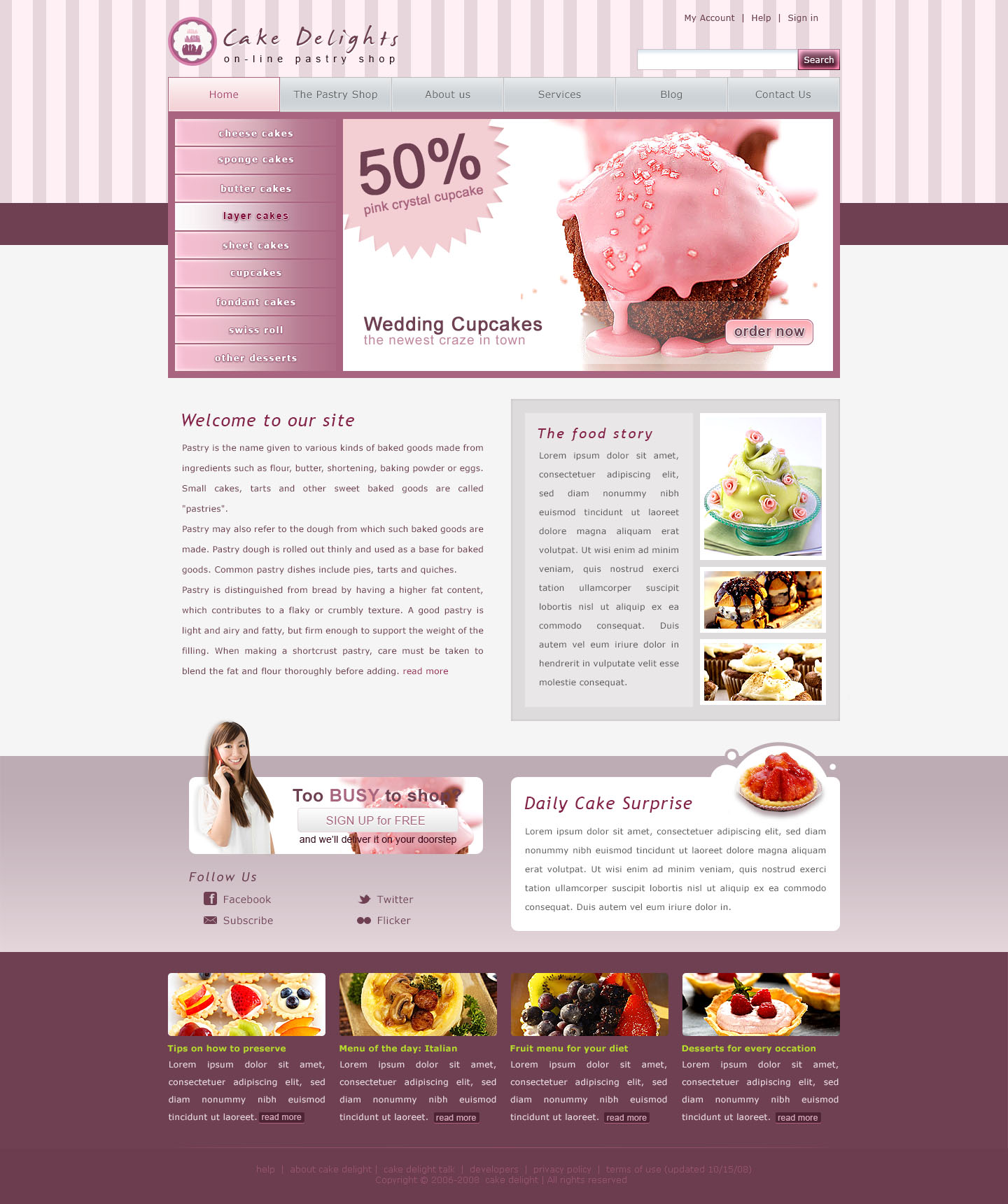 Mẫu website 04